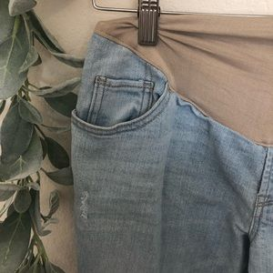 Old Navy Boyfriend Maternity Jeans